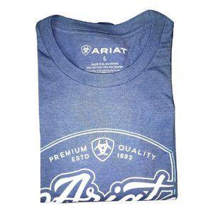 ARIAT Steer Logo Tee for Men, Large